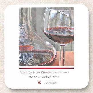 Amantes del vino posavasos