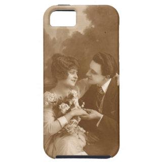 Amantes del vintage funda para iPhone SE/5/5s