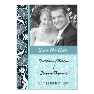 Amantes elegantes y románticos que casan la invitación 12,7 x 17,8 cm