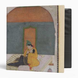 Amantes en una terraza, Garhwal, c.1780-1800