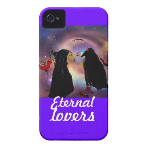 Amantes eternos iPhone 4 fundas