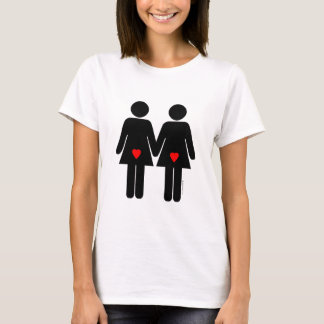 Amantes lesbianos playera