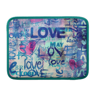 Amantes - manga de aire de MacBook Funda MacBook