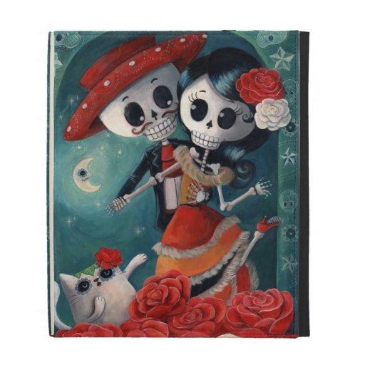 Amantes mexicanos esqueléticos muertos