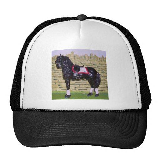 Amantes modelo del caballo gorro de camionero
