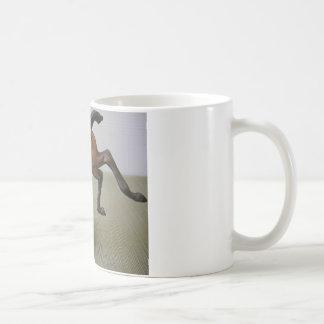 Amantes modelo del caballo taza