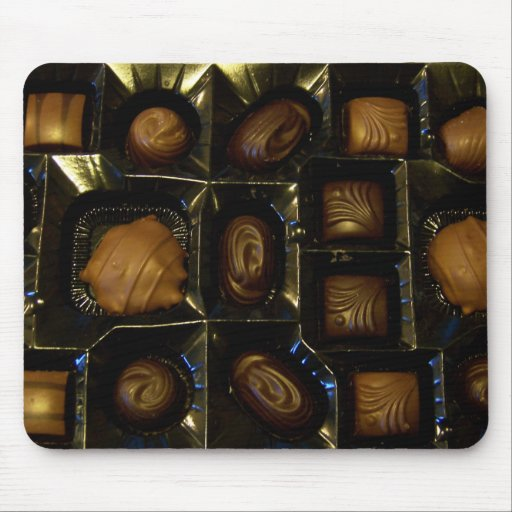 Amantes Mousepad del chocolate Tapetes De Raton