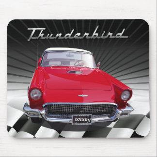 Amantes Mousepads - Thunderbird del coche Alfombrilla De Raton