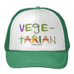 Amantes vegetarianos del Veggie de las verduras Gorro De Camionero
