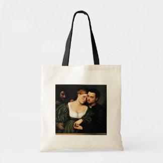 Amantes venecianos de Bordone París (la mejor cali Bolsa