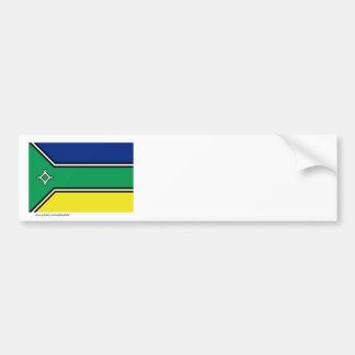 Amapá, bandera del Brasil Pegatina Para Auto