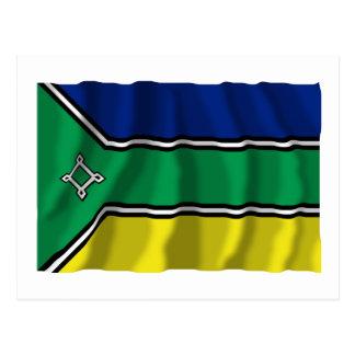 Amapá, Brazil Waving Flag Post Cards