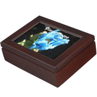 Amapola azul de Bhután Cajas De Recuerdos