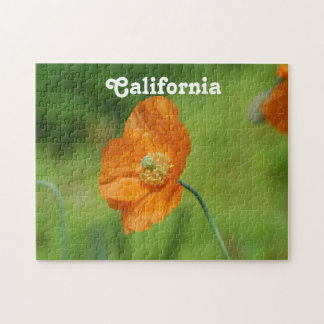 Amapola de California anaranjada Puzzle
