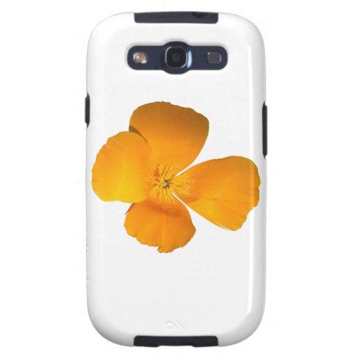 Amapola de California Galaxy S3 Carcasa