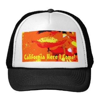 Amapola de California Gorro De Camionero