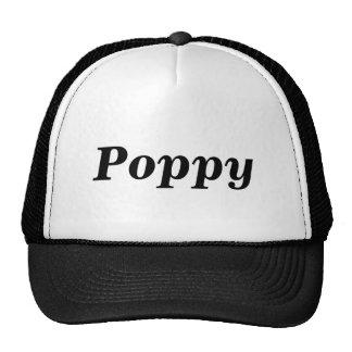 Amapola, gorra, casquillo, abuelo