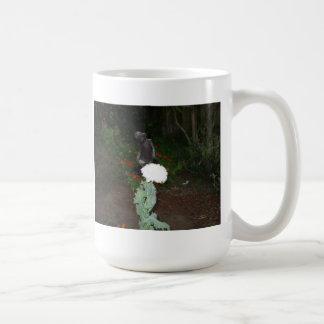 Amapola gótica taza clásica