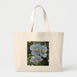 amapola himalayan azul bolsa de mano