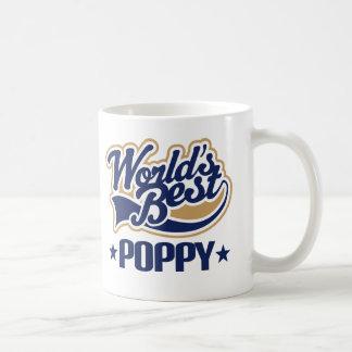 Amapola (mundos mejores) tazas de café