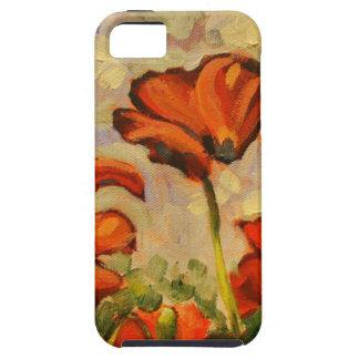 Amapola que pinta III iPhone 5 Case-Mate Cárcasa
