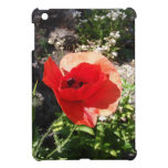 Amapola roja iPad mini coberturas
