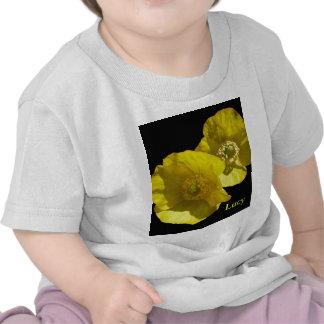 Amapolas amarillas del © P Wherrell California en  Camiseta