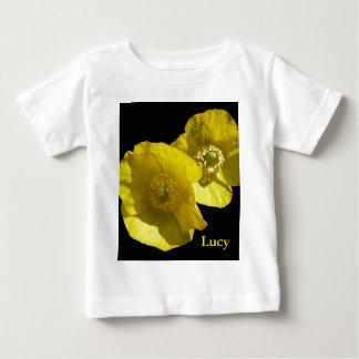 Amapolas amarillas del © P Wherrell California en Playeras