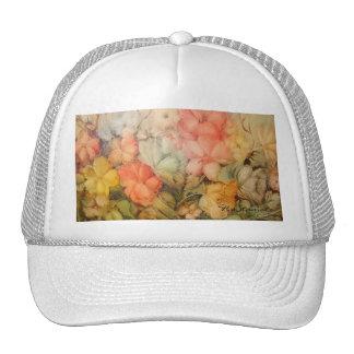 Amapolas coloridas gorras
