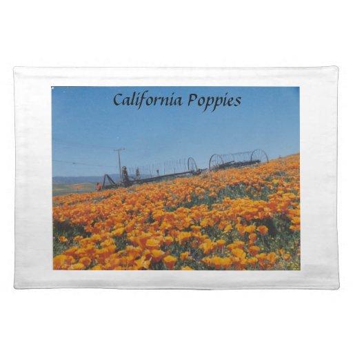 Amapolas de California Manteles