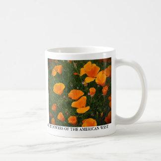 Amapolas de California Taza De Café