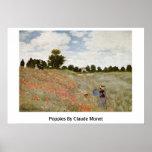Amapolas de Claude Monet Impresiones