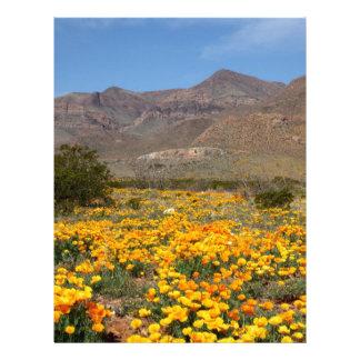 Amapolas de El Paso Membrete