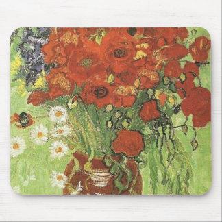 Amapolas de Van Gogh Tapetes De Raton