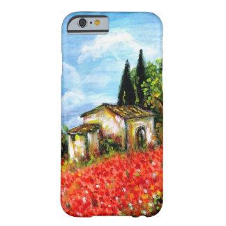 AMAPOLAS EN TOSCANA FUNDA PARA iPhone 6 BARELY THERE