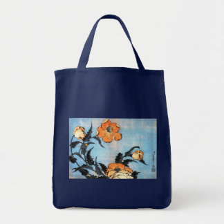 Amapolas, Katsushika Hokusai Bolsa