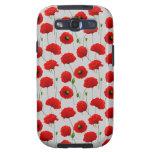 Amapolas Samsung Galaxy S3 Protectores