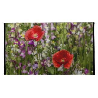 Amapolas y flores salvajes