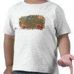 Amapolas y Tradascanthus (aceite en lona) Camiseta