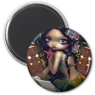 """Amara and the Book"" Magnet"
