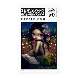 """Amara and the Book"" Stamp"