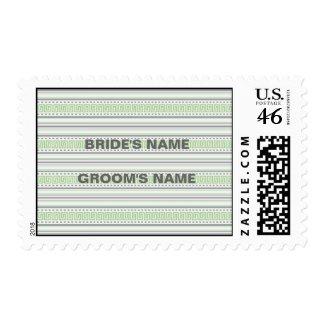 Amara Fret pistachio Stamp stamp