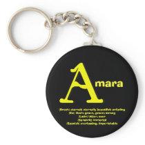 Amara Keychain
