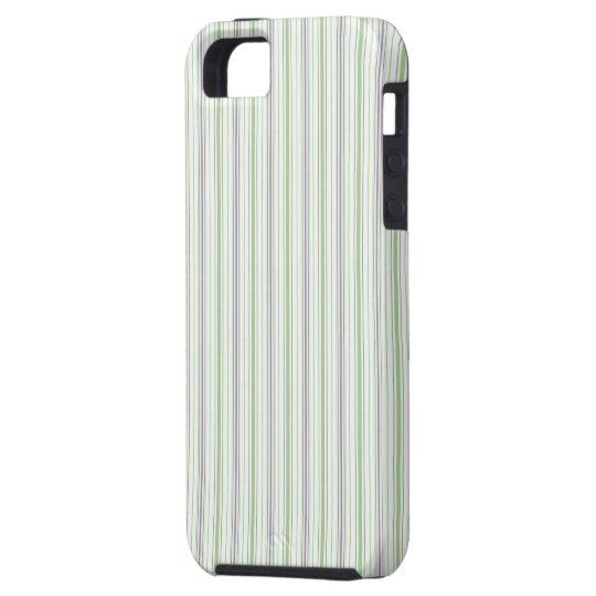 Amara Stripe pistachio iPhone 5 Tough iPhone SE/5/5s Case
