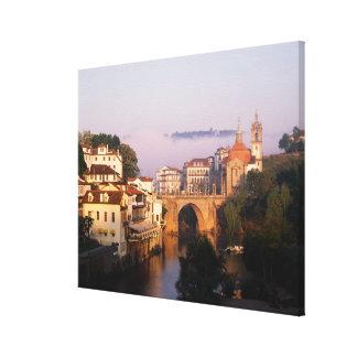 Amarante, Portugal Canvas Print