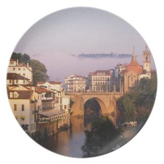 Amarante, Portugal Melamine Plate