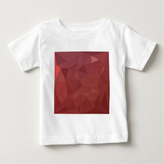 Amaranth Purple Abstract Low Polygon Background Baby T-Shirt
