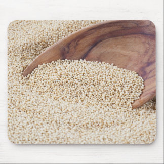 Amaranth with Spoon Mouse Pad