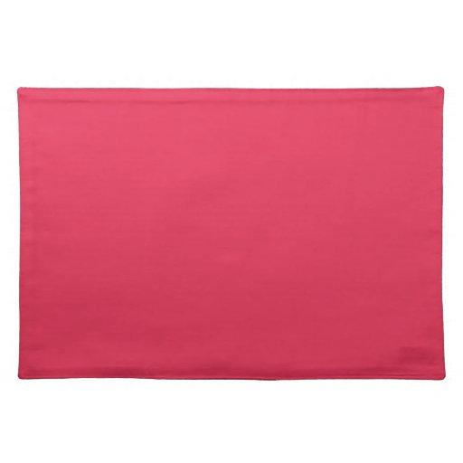 Amaranto Placemats rosado Manteles Individuales