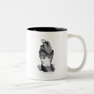 """Amaranto"" Two-Tone Coffee Mug"